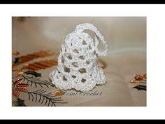 DomiCrochet - YouTube Christmas Art, Crochet Earrings, Crochet Hats, Stitch, Youtube, Jewelry, Christmas Ornaments, Tejidos, Xmas
