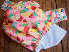 My Little Cupcake PUL One Size Pocket Cloth Diaper by Honeybuns