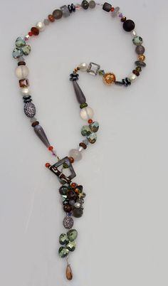 AMY LEINER Designs, Gaucho Toggle Necklace.