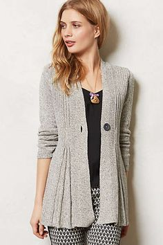 Anthropologie - Isabella Cardigan Bum coverage with a flattering shape.