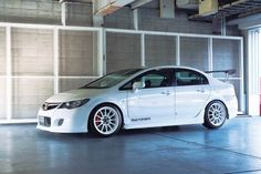 Photo(s) of Custom Honda Civic - SSR wheels .