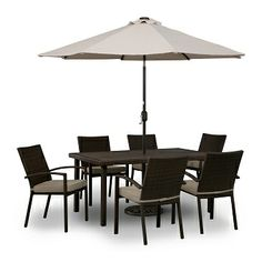 Perfect Sandles Outdoor Furniture 7 Pc. Patio Dinette   Value City Furniture  $599.99; In Store
