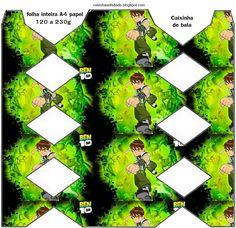 Casinha de Criança: Kit Festa Ben 10 Para Imprimir Grátis