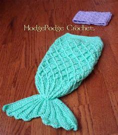 Free Crochet Mermaid Tail Pattern For Babies