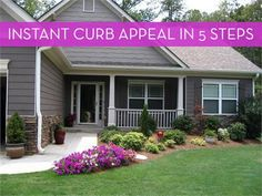 5 Easy Ways To Improve Your Home's Curb Appeal _ Curbly
