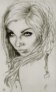 dreadlock girl