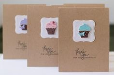 Cupcake punch from stampin up