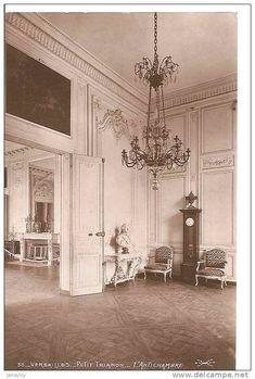 La visite du Petit Trianon: L'antichambre