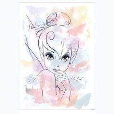 Wandbild Tinkerbell