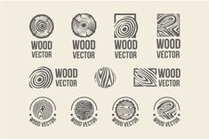 Set of wood rings texture logo by AliceNoir on Creative Market (Woodworking Logo) Furniture Logo, Retro Furniture, White Furniture, Modular Furniture, Urban Furniture, Street Furniture, Apartment Furniture, Distressed Furniture, Refurbished Furniture