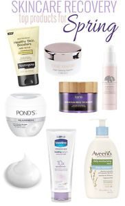 Top skincare products for spring that will help skin recover from winter.
