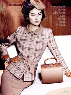 Sui He n' Nan Fulong [] by Mario Testino [] 'Portrait of a Lady [] #VogueChina [] December 2013 []