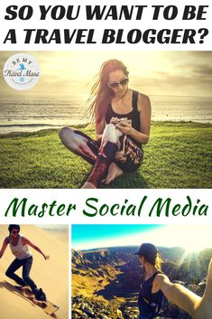 SO YOU WANT TO BE A TRAVEL BLOGGER?: Everything you need to know about harnessing social media to promote your blog and engage readers.  From Kristin Addis of BeMyTravelMuse.com