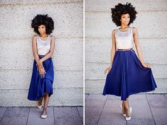 nicole carter-lyde, afro, big hair, natural hair, type 4 hair, model, emma magazine