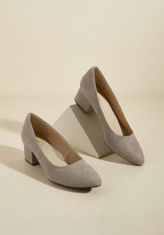 Simple Aesthetic Block Heel