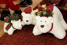 . Clay Bear, Reno, Christmas Ornaments, Christmas Ideas, Polymer Clay, Holiday Decor, Stuffed Toys, Diy, Ideas Para