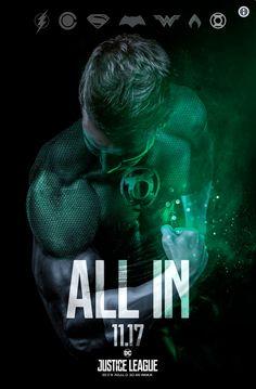 Green Lantern - Justice League 11-17