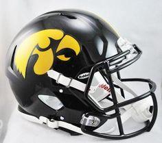 Iowa Hawkeyes Helmet Riddell Authentic Full Size Speed Style