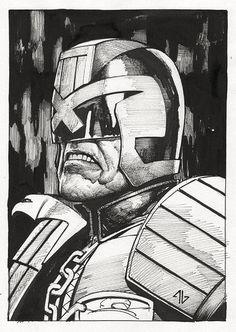 Judge Dredd by Adi Granov *