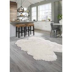 My Texas House by Orian Indoor/Outdoor Lady Bird Harbor Blue Area Rug & Reviews | Wayfair Indoor Outdoor Area Rugs, Indoor Rugs, Plush Area Rugs, Faux Fur Rug, Fluffy Rug, Accent Rugs, Grey Rugs, Online Home Decor Stores, Colorful Rugs