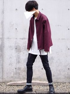 90s Fashion, Korean Fashion, Fashion Outfits, Fashion Tips, Boy Outfits, Casual Outfits, Estilo Retro, How To Look Better, Street Wear