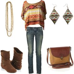 boho distress., created by frankenteddy on Polyvore