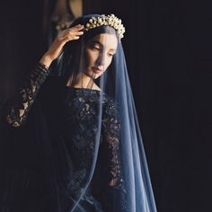 30 Stunning Black Wedding Dresses