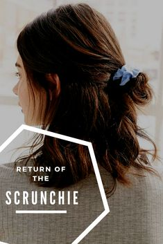 Super cute and fun way to change up your boring hair tie!!! #scrunchie#ad