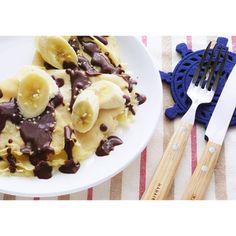 クミタス レシピ バナナの米粉クレープ (卵・乳製品・小麦不使用)