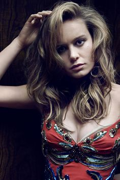 Brie Larson - Captain Marvel!