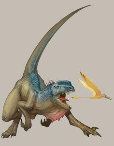 Dilophosaurus by Carlo-Arellano