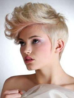 woman mohawks | Kısa Saç Modelleri/Kesimleri 2012