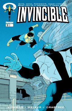 Invincible #2  writer: Robert Kirkman  artist: Cory Walker