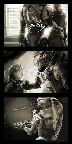 And in my opinion (and prob every other Shakarian fan's out there) Garrus & crew find her ;-) >> RTFM