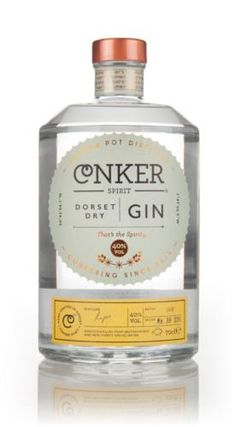 Conker Spirit was founded by Rupert Holloway in the wonderful county of Dorset, home to many local beers but very little in the way of spirits. In walks Dorset Dry Gin from Dorset's first gin distillery! Conker Spirit's Dorset Dry Gin is distilled using British wheat spirit, New Forest spring water and 10 botanicals, including some rather distinctively-Dorset-inspired botanicals - Gorse Flowers, Samphire and Elderberries.