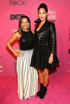 Tracee Ellis Ross and Regina King hosted Black Girls Rock! 2013 at New Jersey Performing Arts Center in Newark, New Jersey