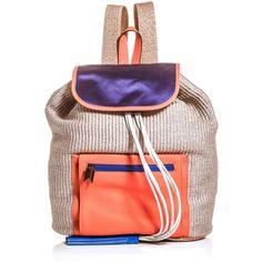 Meredith Wendell Backstroke rucksack ($591) ❤ liked on Polyvore