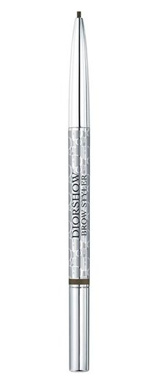Getting beautiful eyebrows is easy with Diorshow Brow Styler by Dior.  This one product redefines, reshapes and fills out the eyebrow, offering high-definition makeup with a graphic yet natural result.  It's the only brow tool you need since it features a retractable tip on one side for an ultra-precise line and a brush on the other side for easy blending.