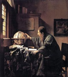 Johannes Vermeer The Astronomer, 1668 Oil on canvas 51 x Musée du Louvre, Paris