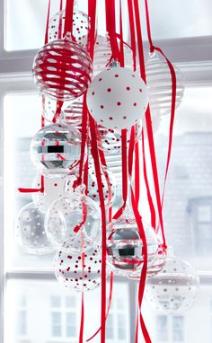 Hang ornaments in bunches - IKEA
