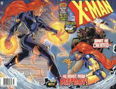 X-Man # 25 by Roger Cruz & Wellington Diaz