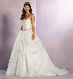 La robe de mariée inspirée de la Belle et la Bête