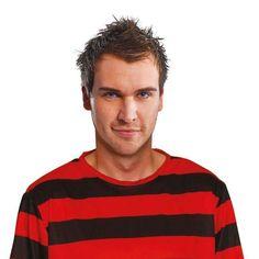 Mens Red Black Jumper Dennis The Menace Adult Costumes Male Halloween  Costume 714d0fb40