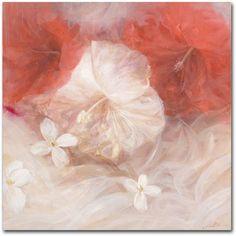 Trademark Fine Art Hibiscus IV Canvas Art by Li Bo, Size: 24 x 24, Multicolor