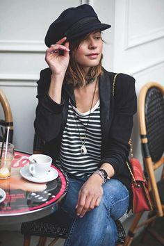 On aime le #style marin à la #mode Parisienne !