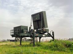 Iron Dome EL/M-2084 Air Defense Radar (Israel)