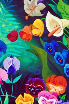 Alice in Wonderland - disney wallpaper