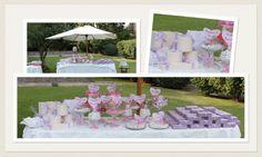 Ci occupiamo anche della disposizione delle bomboniere e della realizzazione del tavolo della confettata. La decorazione floreale sarà realizzata in completa armonia con il resto dell'allestimento.  www.laflorealedistefania.it