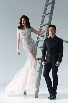 Anne Curtis wears Francis Libiran, shown in ANTM.