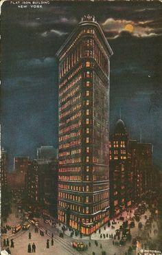 vintage new york city   Vintage Travel Postcards: New York City, New York